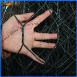 PVCによって石のバスケットのGabionの塗られる電流を通された網