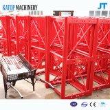 Alzamiento de la construcción de la jaula del doble de la carga clasificada de Sc200/200 2t