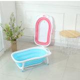 Banheira Foldable do bebê da função de duas cores para a venda