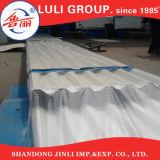 좋은 품질 22 계기 SGCC는 물결 모양 PPGI에 의하여 직류 전기를 통한 강철 지붕 장을 Prepainted