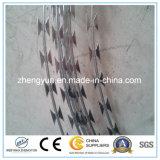 Колючая проволока лезвия бритвы PVC Coated с ценой по прейскуранту завода-изготовителя