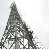 GSMのアンテナ角度の鋼鉄接続タワー