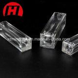 Frasco cosmético retangular do vidro de frasco do perfume com pulverizador