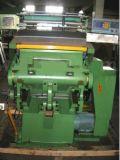 Máquina que corta con tintas del rectángulo del cartón del cristal de exposición (el arrugar)