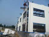 Vor-Ausgeführte helle Stahlkonstruktion-Werkstatt mit Aluminiumlegierung-Fenster (KXD-pH13)