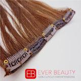 Hochwertiger Klipp auf Kanekalon Haar-Extensionen mit gut Chemiefasergewebe
