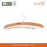 Связи Eisho одевая тип складывая вешалку связи крюков деревянную