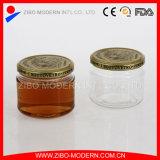 Choc Shaped en verre de miel d'abeille bon marché en gros