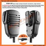 De Microfoon van de Spreker van de schouder met de Schakelaar van Speld 2 voor Motorola CP040