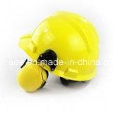Casco di sicurezza protettivo della sega a catena del paraorecchie della testa del cappello duro del luogo
