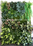 장식을%s 신제품 인공적인 가짜 합성 실내 옥외 녹색 벽