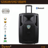 FCC Ce Karaoke Bluetooth FM Mini Trolley DJ Passivo Speaker