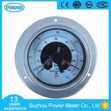 100mm rückseitiger Typ elektrischer Kontakt alles Edelstahl-Manometer