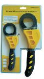 2PCS регулируемый ремень ключ установлен комплект ручного инструмента