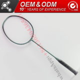 La forme de carbone de l'ISO à tête carrée Sporting Goods Badminton Raquette de graphite