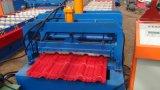 機械を形作る着色された艶をかけられた鋼鉄屋根瓦ロール