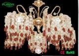Освещение традиционного канделябра СИД большого кристаллический привесное для украшения (D-8105/5)