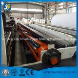 precio modelo de la máquina del convertido el rebobinar del papel de rodillo del tejido de tocador de 1092m m