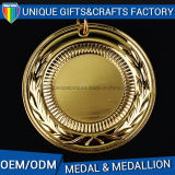 Golden Lanyard Plating Medallion Manufacturers Sport Metal for Souvenir