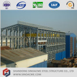 Prefabricados Sinoacme estructurales de acero pesado Edificio Taller