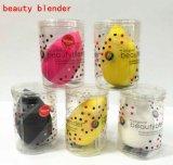 Las gotas de agua forma 5 Maquillaje de Color Powder Puff muy buena calidad belleza suave batidora