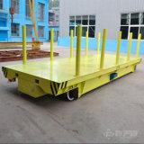 1-300t de gemotoriseerde Vlakke Lorrie van de Materiële Behandeling voor de Lading van de Zware industrie