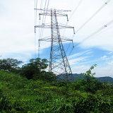 башня передачи силы двойной цепи 220kv продольнофрезерная