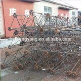 Компонентами будут свет башни Guyed провода связи