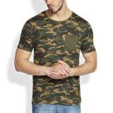 L'impression personnalisée Camo Tees T shirt 100% Polyester technique T-Shirt à séchage rapide