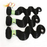 100%のモンゴルのバージンの毛7Aの加工されていなく自然な毛