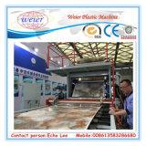 Hoja decorativos de mármol artificial de PVC máquinas de hacer