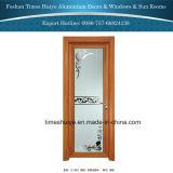 Neue Form-Aluminiumrahmen-Badezimmer-Tür