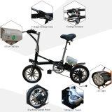 14電気バイクの小型小型のEバイク250Wを折るインチ7の速度
