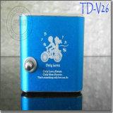 Td-V26 спортивный стиль Mini светодиодный экран с радио FM/SD TF карты для ПК в формате MP3, MP4-плеер