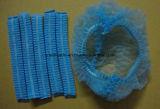 Casquillo Bouffant quirúrgico médico disponible/casquillo de la tira/casquillo de la enfermera