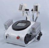 Lipo láser de adelgazamiento portátil de cavitación tripolar RF máquina grasa pérdida de peso congelación