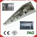 Conjunto de la máquina del operador con la cubierta para la puerta deslizante automática