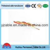 preço de fábrica com isolamento de PVC RVS/fiação cabo trançado
