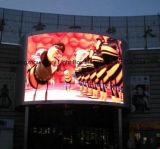 P6 Full LED de cor da parede de vídeo digital da placa de Publicidade