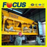 Mobiele Concrete het Groeperen van het Ce- Certificaat 35m3/H Installatie Yhzs35 met Wielen