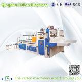 Machine de collage pliante de boîte ondulée semi-automatique