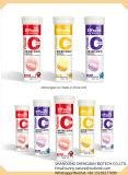 L'énergie solide boit le type marque de distributeur effervescente de vitamines d'OEM de tablette de vitamine C