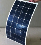High Efficiency Sunpower Mono Cell Semi-Flexible Solar Panel 100W