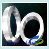 O aço de carbono de C45 SAE1045 forjou o anel feito em China
