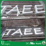 LED Expoy 수지 광고를 위한 옥외 가벼운 상자 표시