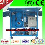 La regeneración de aceite del transformador de la máquina de reciclaje del separador de depósito de aceite de vacío
