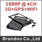 Plein HD 1080P Mobile DVR System, Support 3G et GPS, WiFi Auto Downloading, téléphone cellulaire $$etAPP
