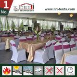 Barraca luxuosa do evento do banquete de casamento do famoso de 500 capacidades com decoração
