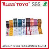 BOPP cintas impresas cintas auto Adheisve BOPP fuerte adhesión de las cajas