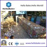 Máquina de borda hidráulica horizontal para o plástico/cartão